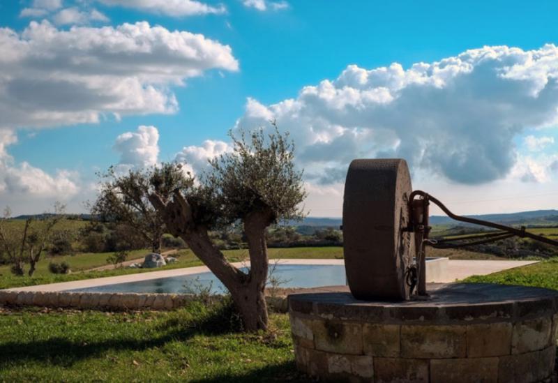 Agriturismo Sizilien Agriturismo in der sizilianischen Landschaft