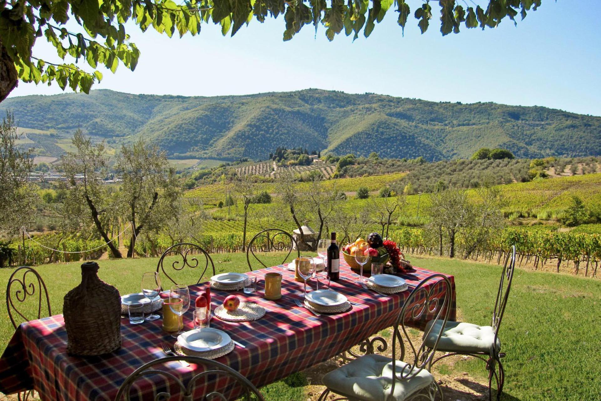 Agriturismo Toskana Außergewöhnliches Weingut in der Nähe von Florenz | myitalyselection.de
