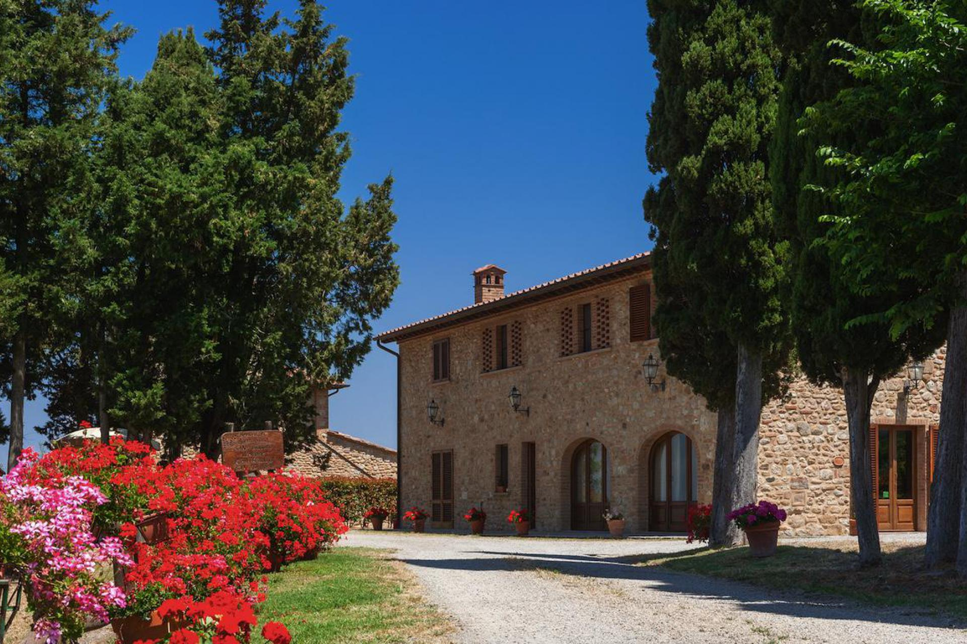 Agriturismo Toskana Agriturismo Toskana, hier kocht die Mama