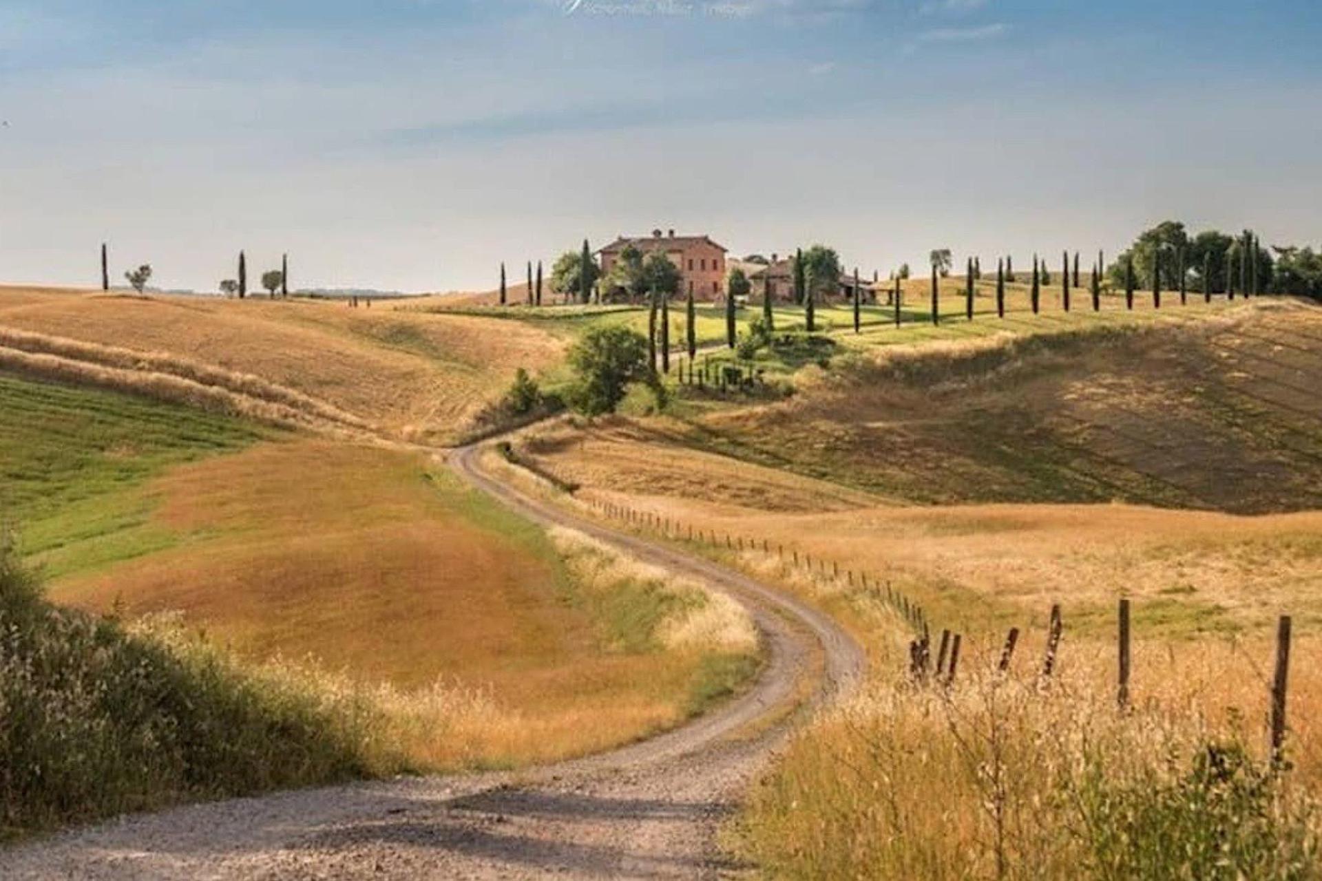Agriturismo Toskana Kleiner Agriturismo mit Aussicht auf Siena | myitalyselection.de