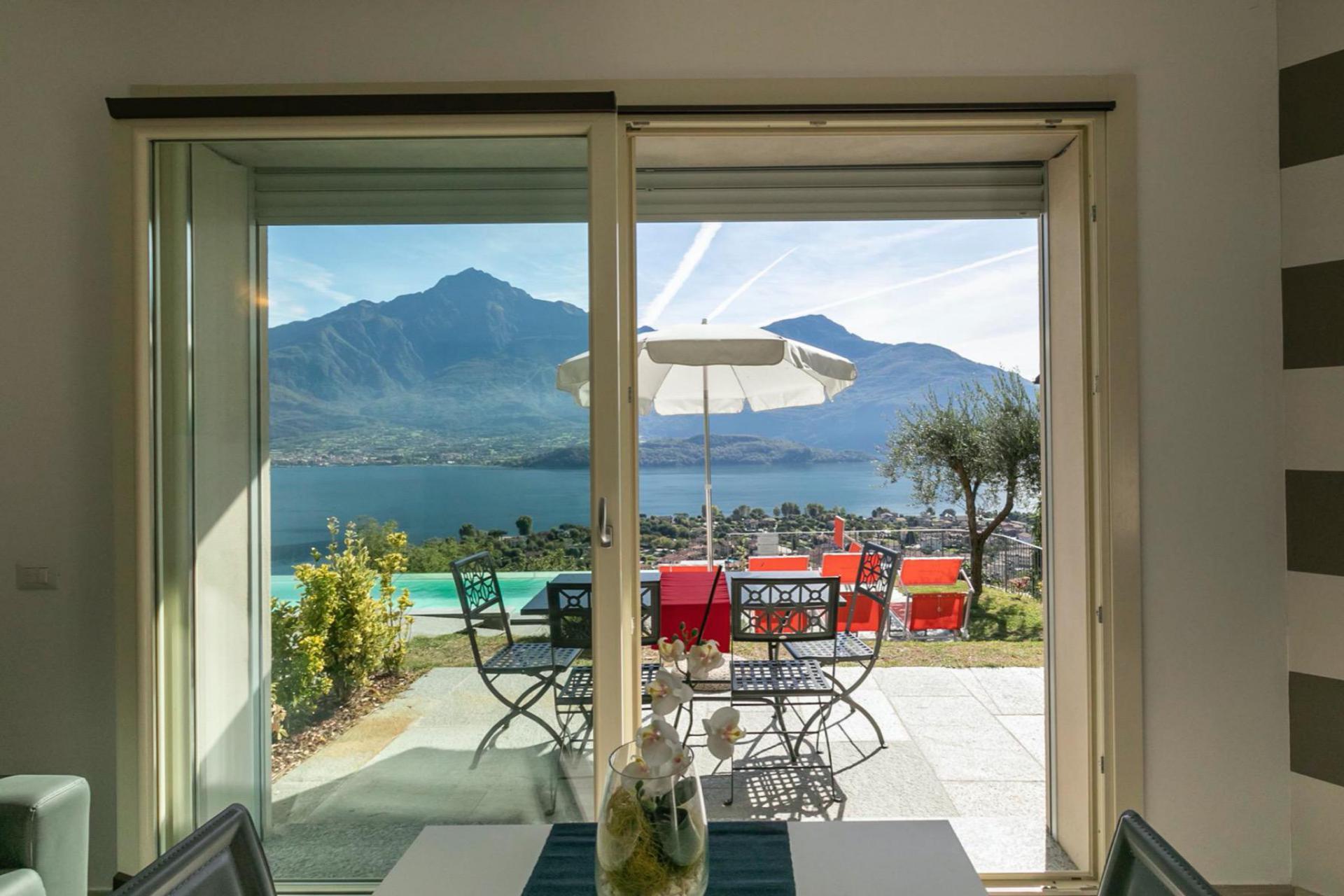 Agriturismo Comer See und Gardasee Residenz mit einzigartigem Blick auf den Comer See
