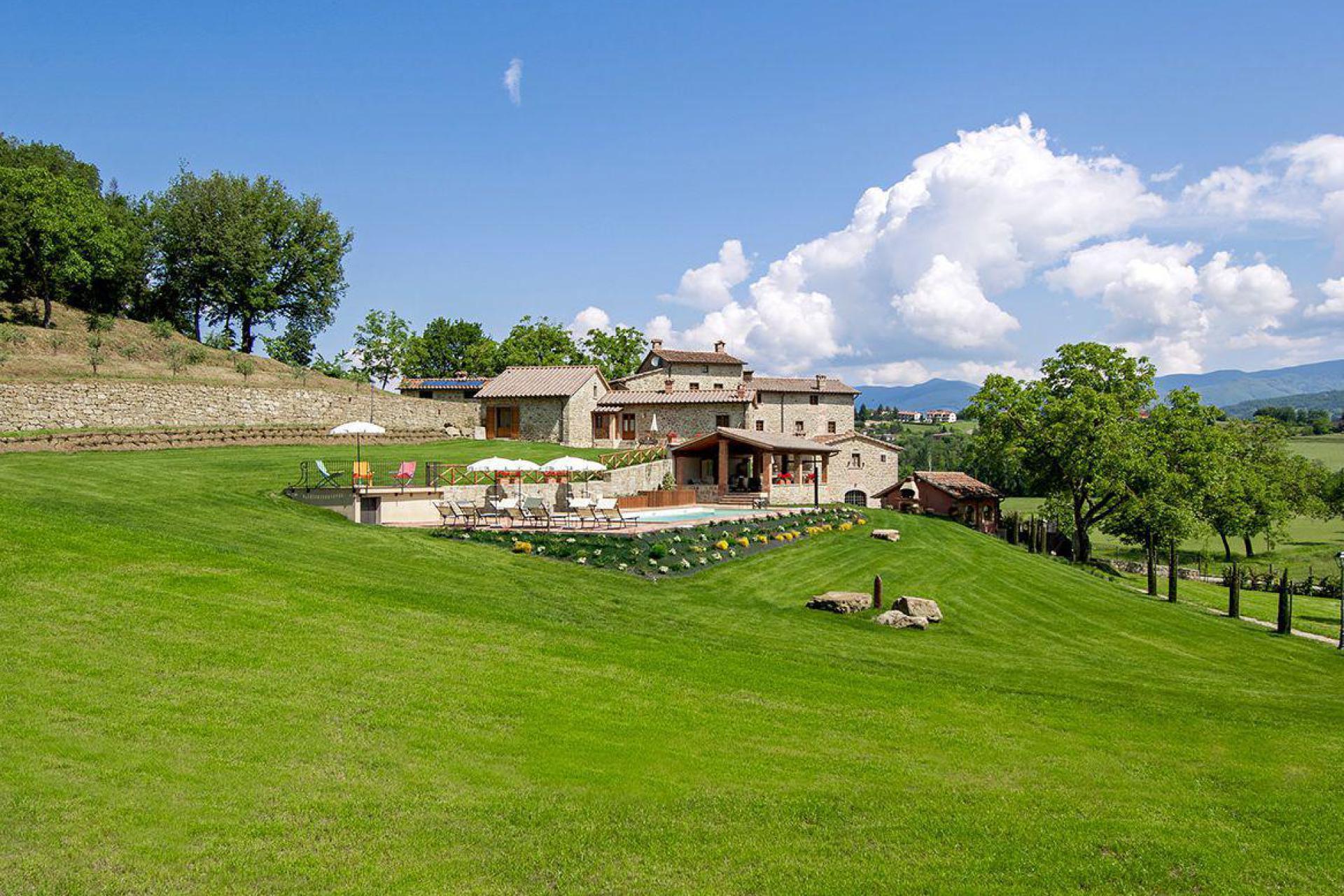 Agriturismo Toskana Eleganter Agriturismo, mit schönem Blick auf Siena
