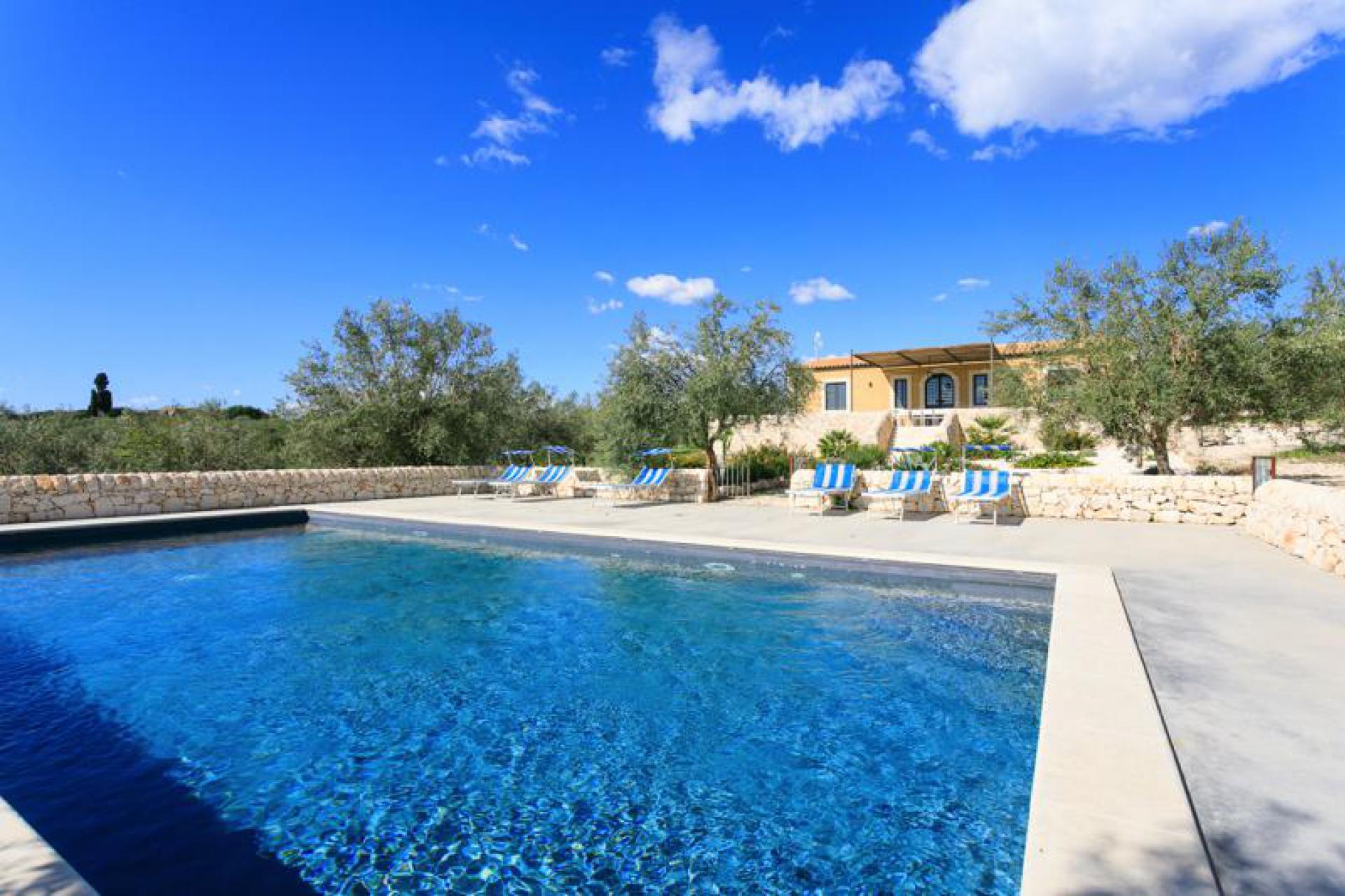 Agriturismo Sizilien Villa Sizilien mit privatem Pool und Meerblick